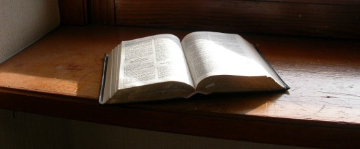 bible on pulpit